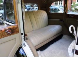 Vintage Rolls Royce for wedding hire in Wokingham